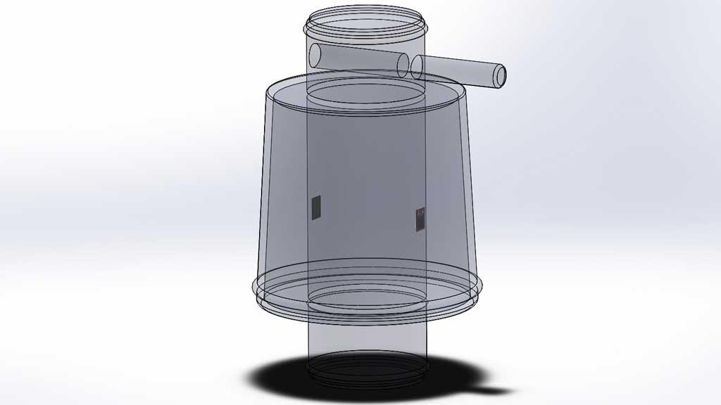 celda de carga de columna o de bote