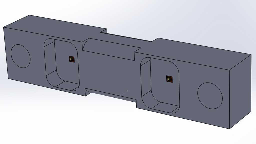 celda de carga de doble apoyo