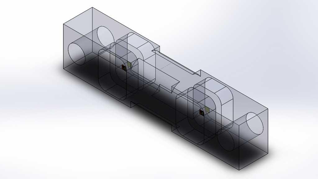 como se construye una celda de carga de doble apoyo