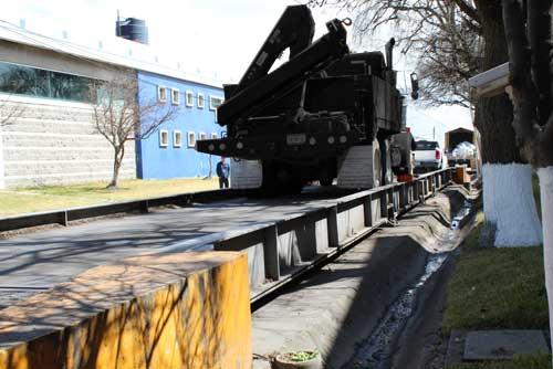 Mantenimiento y calibración a básculas camioneras