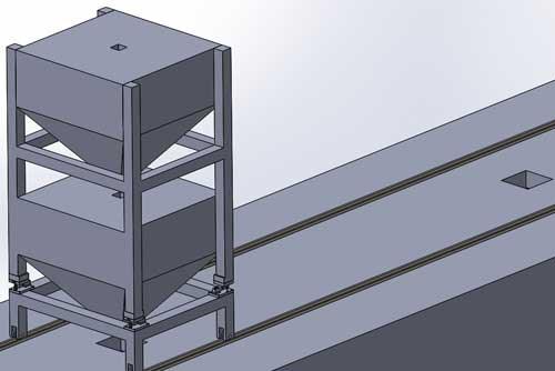 Sistemas de llenado en multiples silos fijos